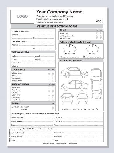 POC & POD Vehicle Inspection